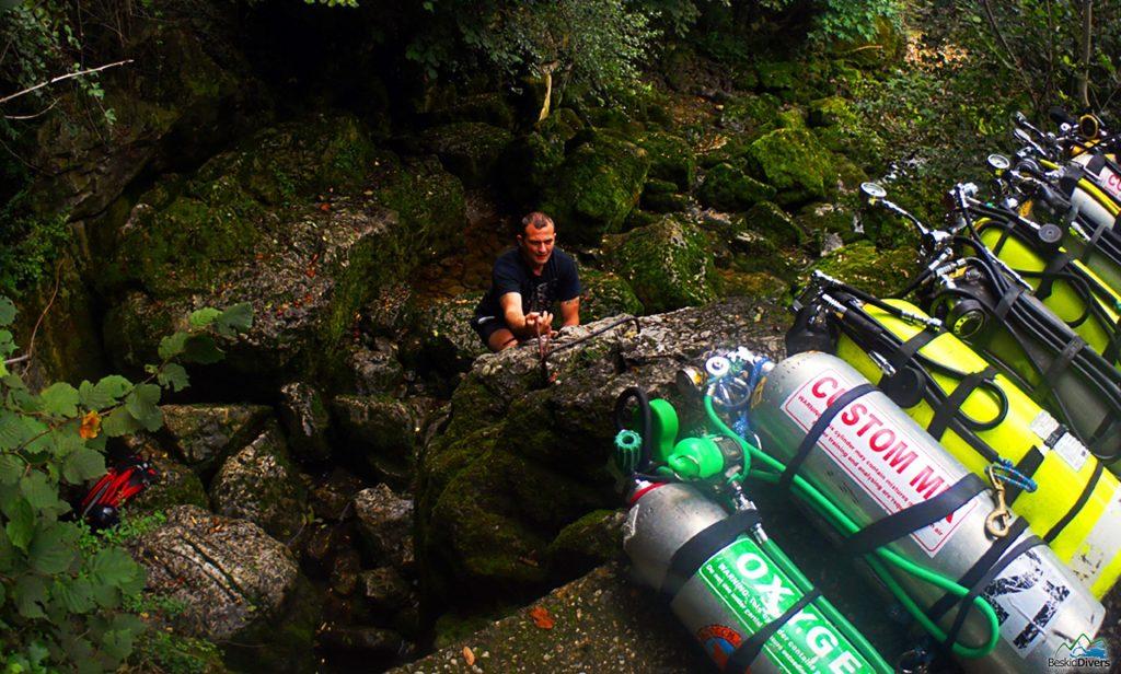Kurs nurkowy Jaskiniowy Cave Diver