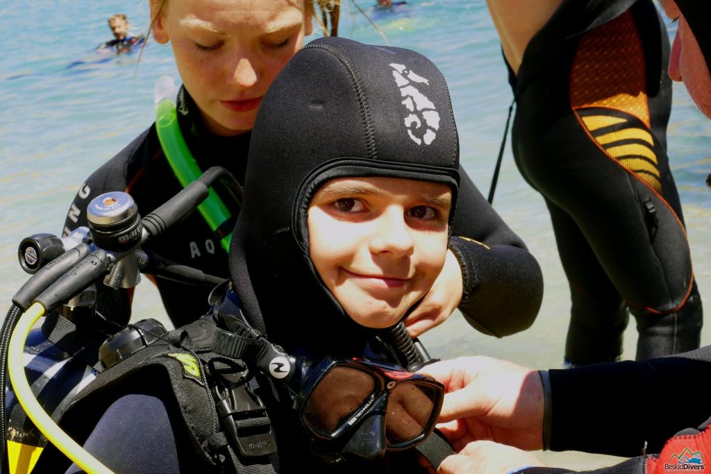 Szkoła nurkowa dla dzieci BeskidDivers