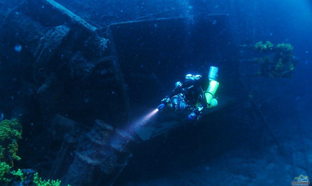 Kurs nurkowy Wrakowy Advanced Wreck Diver