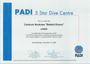 BeskidDivers Nagrody  Referencje  Wyróżnienia