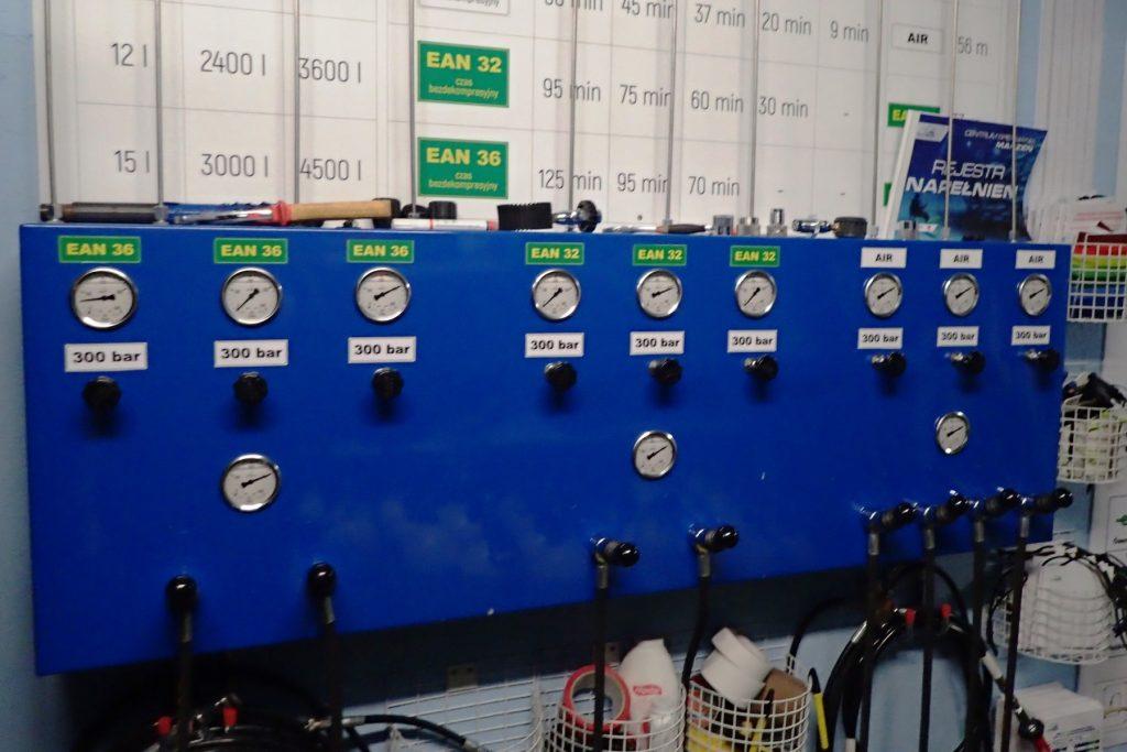 Napełnianie iładowanie Butli HP IPCP 300 BAR